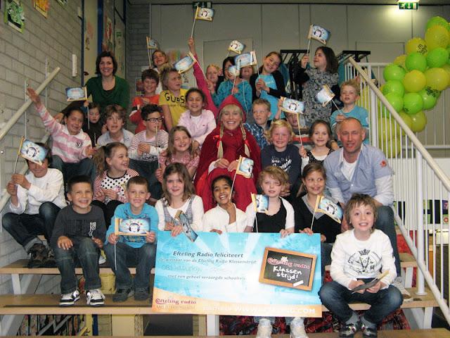 Basisschool Harlekijn uit Landgraaf wint Klassenstrijd van Efteling Radio