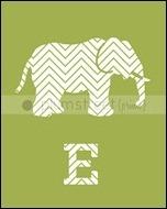 R_W_Silhouette_ElephantLetterE8x10_g
