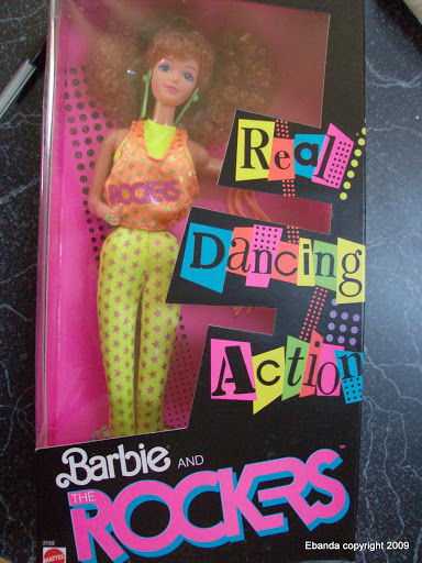 Real Dancing Action Barbie and the Rockers · Rosie Odonnell