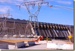 dam and generators