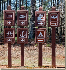 Activities Signage