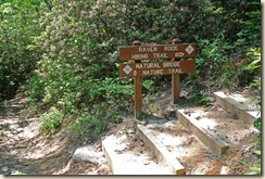 Raven Rock Trail Sign