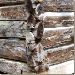 0Log House Detail
