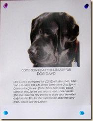 Jenny Dog Days