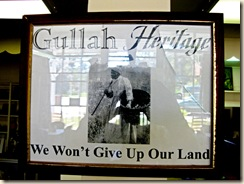 Gullah Land Sign