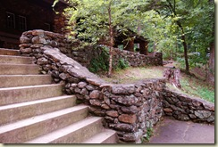 steps wall