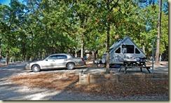 Cheraw campsite 14