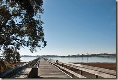 View of Nature Center Pier