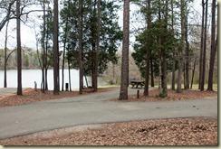 paved site