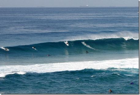 Newcastle Beach. Foto: Tiago Dias