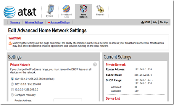 dhcp assigns wrong gateway