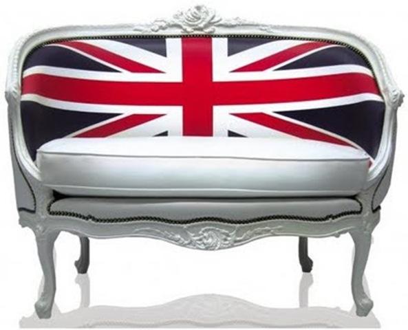 Union Jack Settee