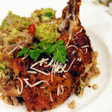 Pan-Seared Chicken & Romanesco Bulgur Salad