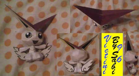 Pokemon Victini Papercraft