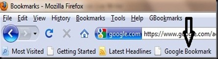 Google.Bookmark