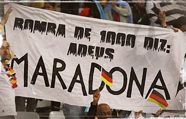 ADEUS MARADONA