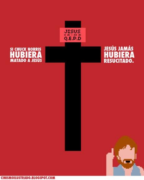 chuck x jesus