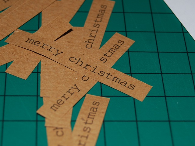 merry chiristmas labels