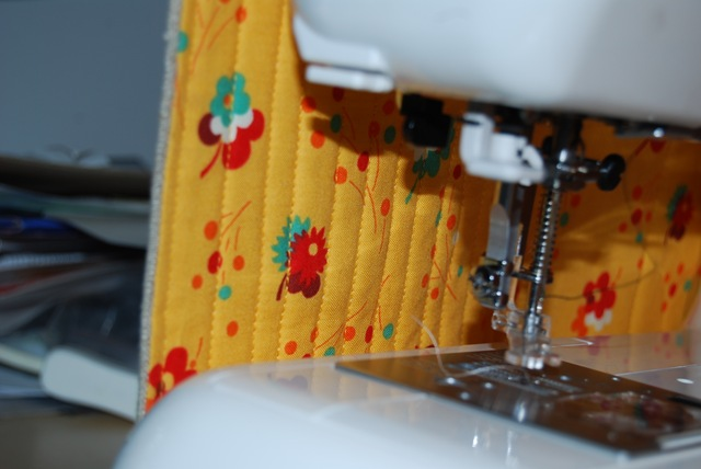 Sewing machine cover inside
