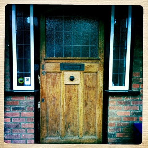 January - my front door