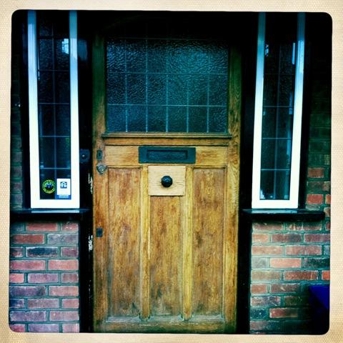 January - my front door