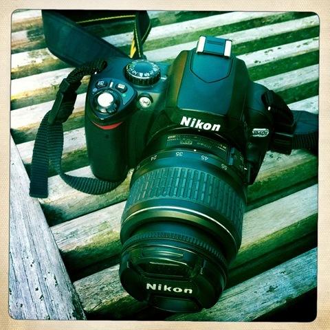 April - my camera