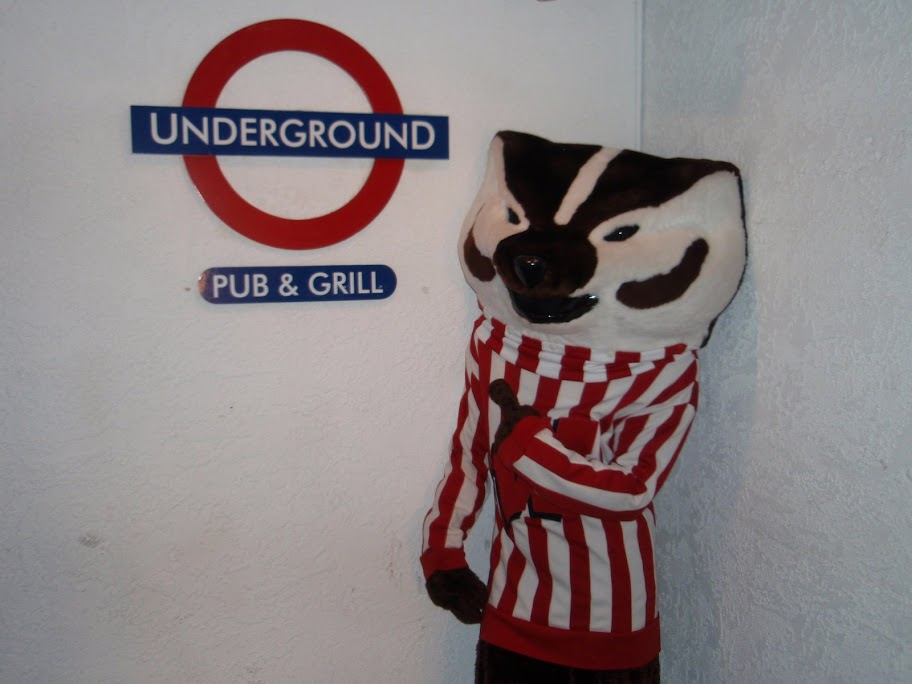 Bucky at Underground
