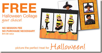 Sears Halloween Collage