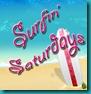 surfin saturday-Button