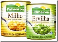 Packshot Milho Verde e Ervilha Palmeiron