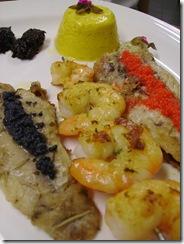 Mix grill de peixe- Foto Armando Puglliesi