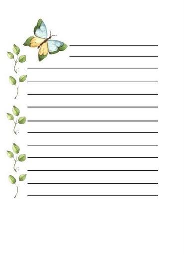 Papel para cartas plantillas de cartas o cartas de cambiar - Plantillas para la pared ...