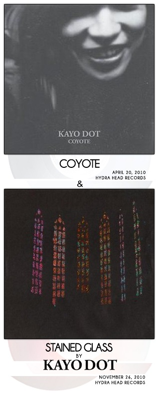 Coyote [LP] / Stained Glass [EP] by Kayo Dot