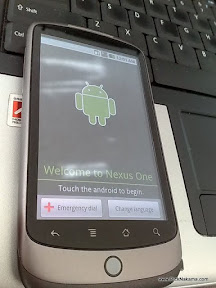 www.RickNakama.com HTC Google Nexus One unboxing Android 2.1