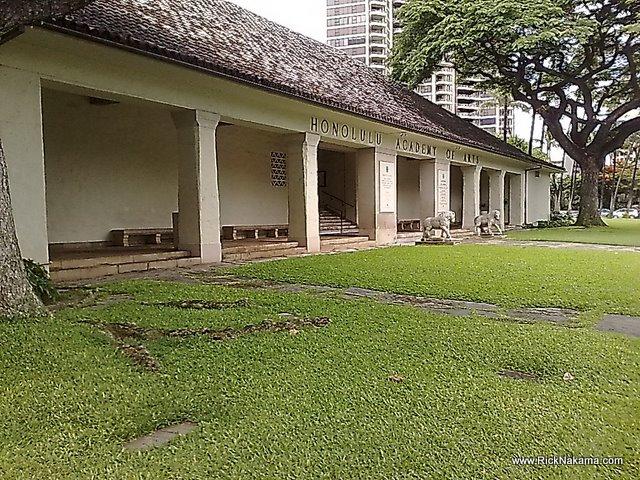 www.RickNakama.com Honolulu Academy of Arts art museum