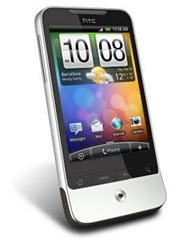 Smartphone do HTC incredible.