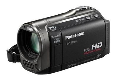 Filmadora TM60, o equipamento conta com 16 GB de memória interna