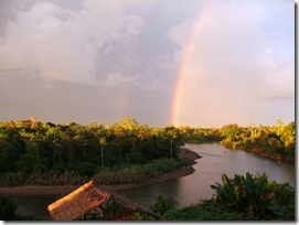 The Wai Maeri river in the afternoon