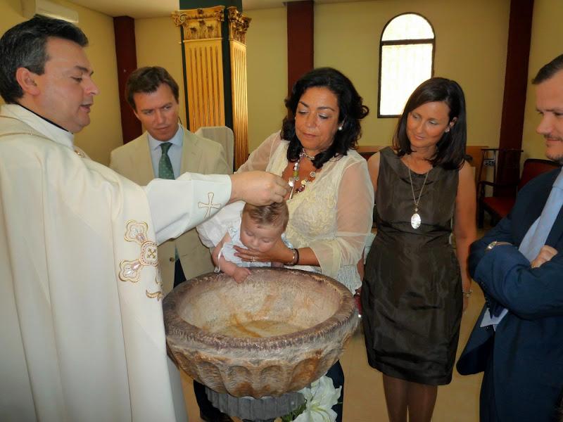 Bautismo de Ignacio (29 de mayo de 2010)