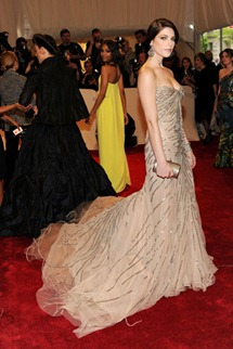 Met gala Ashley Greene Donna Karan