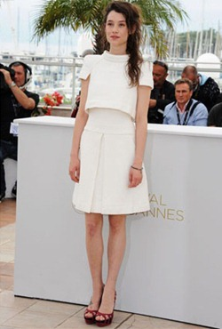 64th cannes film festival astrid berges frisbey chanel