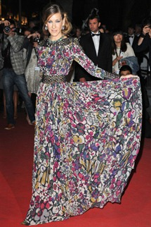 64th cannes film festival sarah jessica parker elie saab