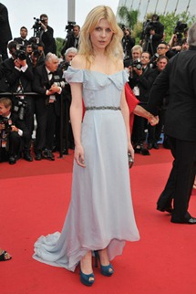 64th cannes film festival clemence poesy YSL
