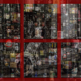 Belgian beers by Radijsje VC - Food & Drink Alcohol & Drinks ( photoshop art, red, beer, frames, scooter )