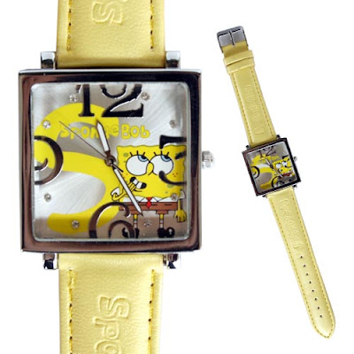 ����� ����� 2011 Spge Bob watch T5656 About 9 inches L,watch face 1inches W.jpg