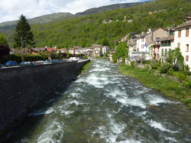River in Aix-les-Thermes