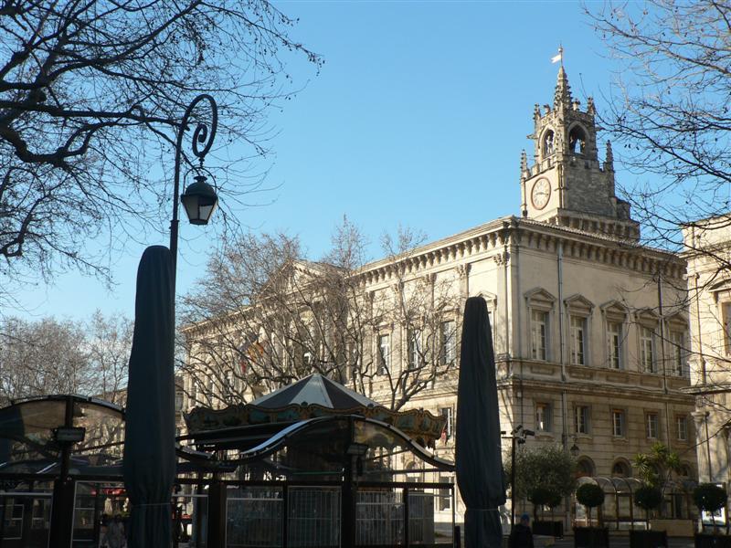 Avignon city square