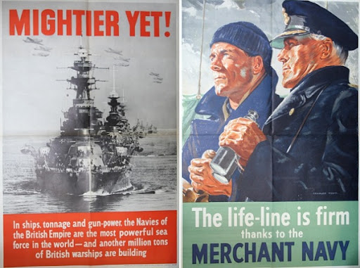 British World War I Propaganda Posters. World War II propaganda