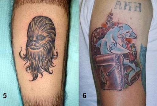 tattoo on back of leg. Leg Tattoo - Back Chewbacca on