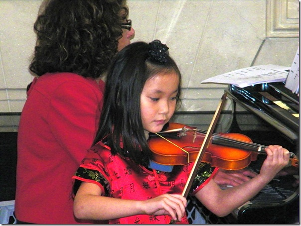 abby violin recital